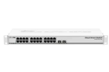 net. MikroTik CSS326-24G-2S+RM 24х Gigabit RJ45, 2х SFP+