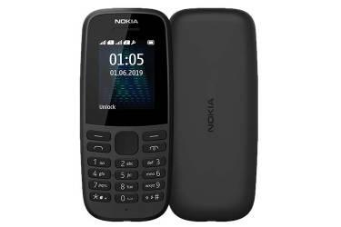 Мобильный телефон Nokia 105 SS TA-1203 Black NEW (2019)