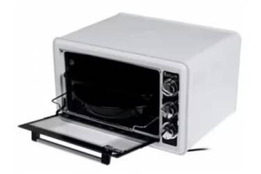 Мини-печь Saturn ST-EC1075R White 36л 1200Вт решетка 2противня внутр эмалиров покрытие