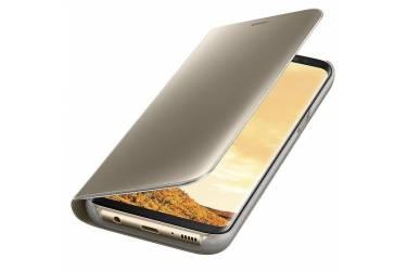 Оригинальный чехол (флип-кейс) для Samsung Galaxy S8+ Clear View Standing Cover золотистый (EF-ZG955CFEGRU)