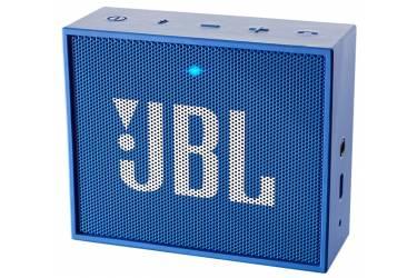 Портативная беспроводная bluetooth акустика JBL Go синяя