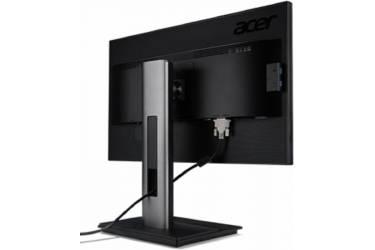 "Монитор Acer 23.8"" B246HYLAymidr черный IPS LED 5ms 16:9 DVI HDMI M/M матовая HAS 250cd 170гр/160гр 1920x1080 D-Sub DisplayPort FHD"