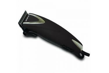 Машинка для стрижки Polaris PHC 0714 коричневый/черный 7Вт (насадок в компл:4шт)