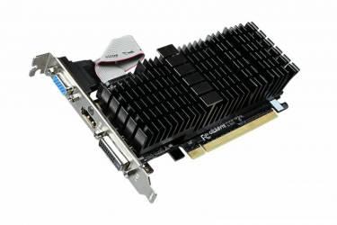 Видеокарта Gigabyte PCI-E GV-N710SL-2GL nVidia GeForce GT 710 2048Mb 64bit DDR3 954/1800 DVIx1/HDMIx1/CRTx1/HDCP Ret low profile