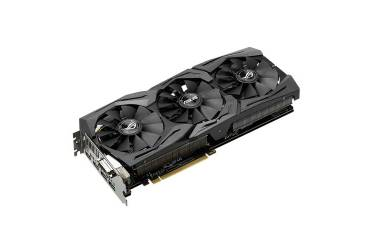 Видеокарта Asus PCI-E STRIX-GTX1080-8G-GAMING nVidia GeForce GTX 1080 8192Mb 256bit GDDR5X 1607/10010 DVIx1/HDMIx2/DPx2/HDCP Ret