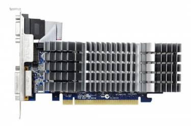 Видеокарта Asus PCI-E EN210 SILENT/DI/1GD3/V2(LP) nVidia GeForce 210 1024Mb 64bit DDR3 589/1200 DVIx1/HDMIx1/CRTx1/HDCP Ret