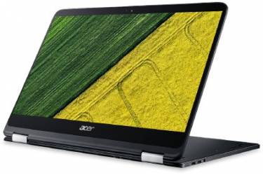 "Трансформер Acer Spin 7 SP714-51-M0RP Core i7 7Y75/8Gb/SSD512Gb/Intel HD Graphics 615/14""/IPS/Touch/FHD (1920x1080)/Windows 10/black/WiFi/BT/Cam/2770mAh"