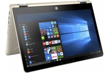 "Трансформер HP Pavilion x360 14-ba017ur Core i3 7100U/6Gb/500Gb/nVidia GeForce 940MX 2Gb/14""/IPS/Touch/FHD (1920x1080)/Windows 10 64/gold/WiFi/BT/Cam"