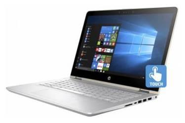 "Трансформер HP Pavilion x360 14-ba019ur Core i3 7100U/6Gb/500Gb/SSD128Gb/nVidia GeForce 940MX 2Gb/14""/IPS/Touch/FHD (1920x1080)/Windows 10 64/gold/WiFi/BT/Cam"