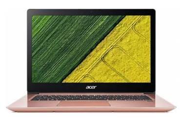 "Ультрабук Acer Swift 3 SF314-52-31Z5 Core i3 7100U/8Gb/SSD128Gb/Intel HD Graphics 620/14""/IPS/FHD (1920x1080)/Windows 10/pink/WiFi/BT/Cam/3220mAh"