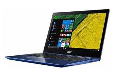 "Ультрабук Acer Swift 3 SF314-52-78SA Core i7 7500U/8Gb/SSD256Gb/Intel HD Graphics 620/14""/IPS/FHD (1920x1080)/Windows 10/blue/WiFi/BT/Cam/3220mAh"