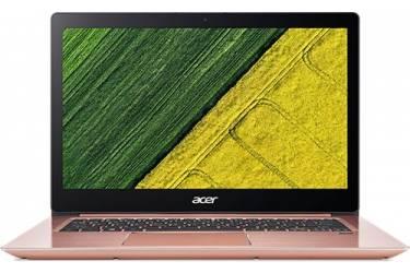 "Ультрабук Acer Swift 3 SF314-52G-56WG Core i5 8250U/8Gb/SSD256Gb/nVidia GeForce Mx150 2Gb/14""/IPS/FHD (1920x1080)/Linux/pink/WiFi/BT/Cam"