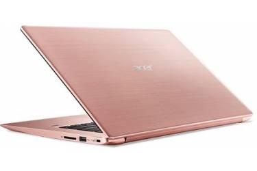"Ультрабук Acer Swift 3 SF314-52G-8240 Core i7 8550U/8Gb/SSD256Gb/nVidia GeForce Mx150 2Gb/14""/IPS/FHD (1920x1080)/Linux/pink/WiFi/BT/Cam"