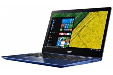 "Ультрабук Acer Swift 3 SF314-52G-82UT Core i7 8550U/8Gb/SSD256Gb/nVidia GeForce Mx150 2Gb/14""/IPS/FHD (1920x1080)/Windows 10/blue/WiFi/BT/Cam"