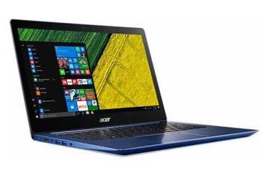 "Ультрабук Acer Swift 3 SF314-52G-879D Core i7 8550U/8Gb/SSD256Gb/nVidia GeForce Mx150 2Gb/14""/IPS/FHD (1920x1080)/Linux/blue/WiFi/BT/Cam"