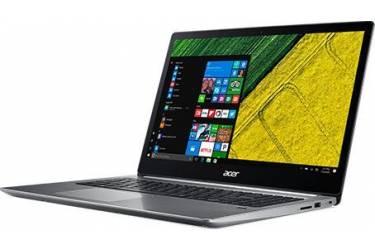 "Ультрабук Acer Swift 3 SF315-51G-50SE Core i5 7200U/8Gb/SSD256Gb/nVidia GeForce Mx150 2Gb/15.6""/IPS/FHD (1920x1080)/Linux/dk.grey/WiFi/BT/Cam/3220mAh"
