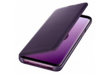 Оригинальный чехол (флип-кейс) для Samsung Galaxy S9 LED View Cover фиолетовый (EF-NG960PVEGRU)