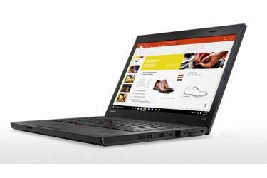 "Ноутбук Lenovo ThinkPad L470 Core i5 7200U/4Gb/1Tb/Intel HD Graphics 620/14""/HD (1366x768)/noOS/black/WiFi/BT/Cam"