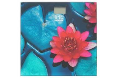 Весы напольные электронные IRIT IR-7274 стекло с рисунком 150кг 29*29см