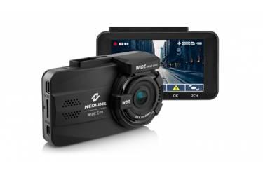 Видеорегистратор Neoline Wide S49 DUAL черный 2Mpix 1080x1920 1080p 155гр.