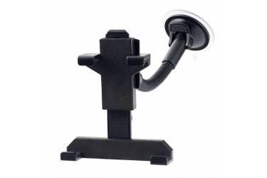 """Автодержатель Perfeo-709 для планшета 6""""- 8""""/ на стекло/ на гибкой штанге/ пластик/ черный/"""