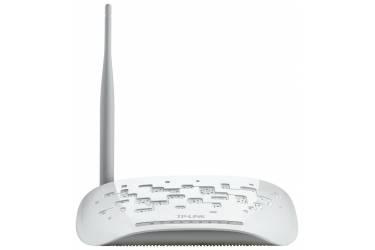 Беспроводной маршрутизатор серии N со встроенным модемом ADSL2+ Tp-Link TD-W8951ND скорость до 150 Мбит/с