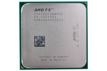 Процессор AMD FX 9590 AM3+ (FD9590FHW8KHK) (4.7GHz/5200MHz) OEM