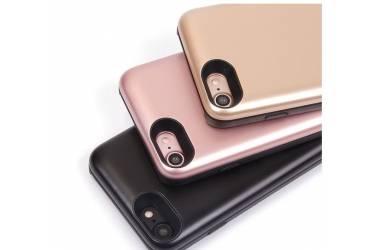Чехол-аккумулятор с силиконовым бампером для Apple IPhone 7 3800 mAh, (Золотой)