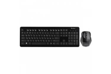 Комплект клавиатуара+мышь Intro Wireless black DW910 черный
