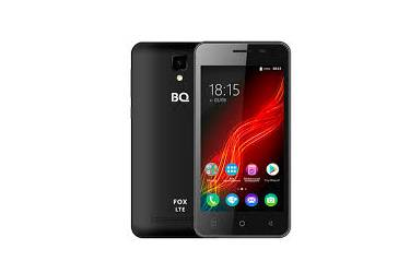 Смартфон BQ-4500L Fox LTE Черный