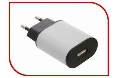 СЗУ Aksberry USB 1A + кабель microUSB