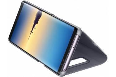 Оригинальный чехол (флип-кейс) для Samsung Galaxy Note 8 Clear View Standing Cover черный (EF-ZN950