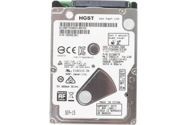"""Жесткий диск HGST SATA-III 500Gb 0J38075 HTS725050A7E630 Travelstar Z7K500 (7200rpm) 32Mb 2.5"""""""