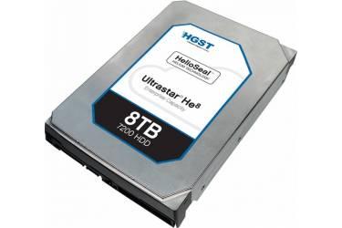 """Жесткий диск HGST SATA-III 8Tb 0F23668 HUH728080ALE604 Ultrastar HE8 (7200rpm) 128Mb 3.5"""""""