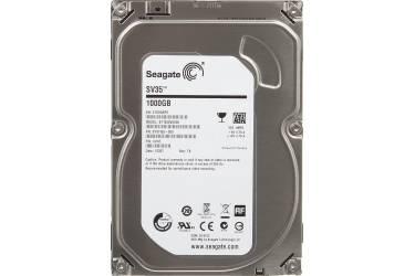 "Жесткий диск Seagate Original SATA-III 1Tb ST1000VX000 SV35 (7200rpm) 64Mb 3.5"""
