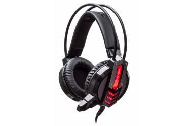 Наушники с микрофоном Oklick HS-L450G ARROW черный 2.2м мониторы оголовье (HS-L450G)