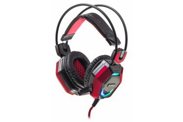 Наушники с микрофоном Oklick HS-L900G HURRICANE черный 2.2м мониторы оголовье (HS-L900G)