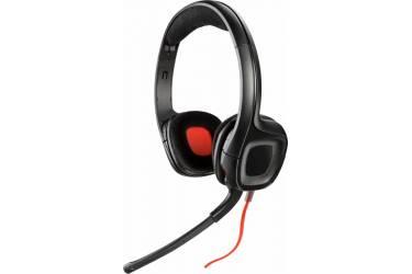 Наушники с микрофоном Plantronics Gamecom 318 черный 2м накладные оголовье (201250-05)