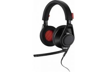 Наушники с микрофоном Plantronics RIG Flex черный 1.5м мониторы оголовье (201940-05)