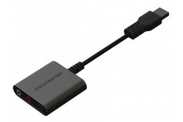 Наушники с микрофоном Steelseries 9H черный 0.96м мониторы оголовье (61101)