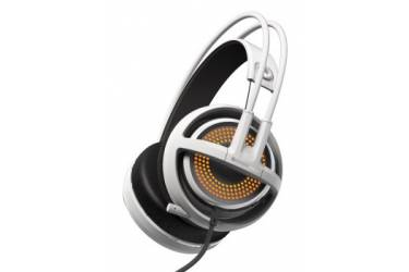 Наушники с микрофоном Steelseries Siberia 350 белый 1.5м мониторы оголовье (51204)