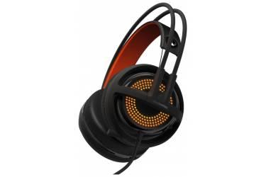 Наушники с микрофоном Steelseries Siberia 350 черный 1.5м мониторы оголовье (51202)
