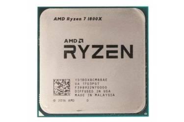 Процессор AMD Ryzen 7 1800X AM4 (YD180XBCAEWOF) (3.6GHz/100MHz) Box w/o cooler
