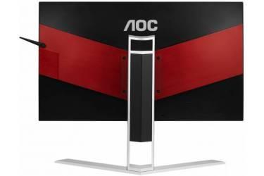 "Монитор AOC 23.8"" Gaming AG241QG черный TN+film LED 16:9 HDMI M/M матовая HAS Pivot 350cd 2560x1440 DisplayPort QHD USB 5.53кг"