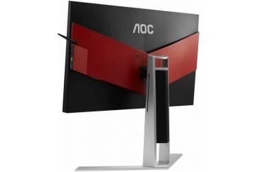 "Монитор AOC 23.8"" Gaming AG241QX черный TN+film LED 16:9 DVI HDMI M/M матовая HAS Pivot 350cd 2560x1440 D-Sub DisplayPort FHD USB 5.53кг"