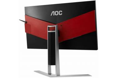 "Монитор AOC 23.8"" Gaming AG241QX черный TN+film LED 16:9 DVI HDMI M/M матовая HAS Pivot 350cd 2560x1440 D-Sub DisplayPort FHD USB 5.53кг"