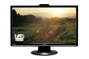 "Монитор Asus 24"" VK248H черный TN+film LED 16:9 DVI HDMI M/M Cam матовая 250cd 1920x1080 D-Sub FHD 5кг"