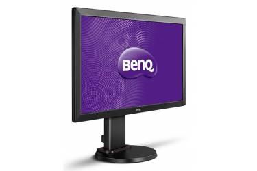 "Монитор Benq 24"" RL2460HT черный TN+film 5ms 16:9 DVI HDMI M/M матовая HAS Pivot 1000:1 250cd 1920x1080 D-Sub FHD 4.1кг"