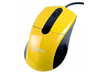 Компьютерная мышь Perfeo Color  PF-203-OP-R USB красная