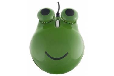 Компьютерная мышь Perfeo Ква-Ква PF-103-OP-GN USB зеленая